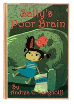 Sally poor brain book cover 2