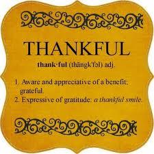 Thankful def.