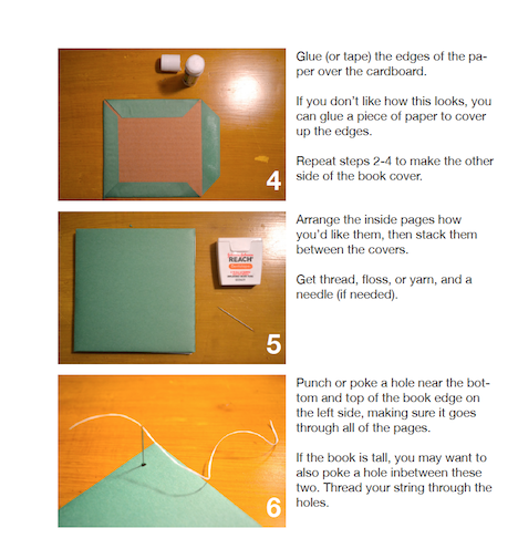 Step 2 bookmaking