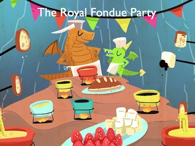 Mrs. P Reads the Royal Fondue Party.001