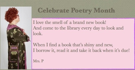 Celebrate poetry month .001