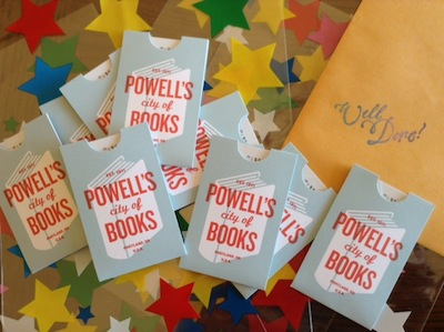Powells gift cards