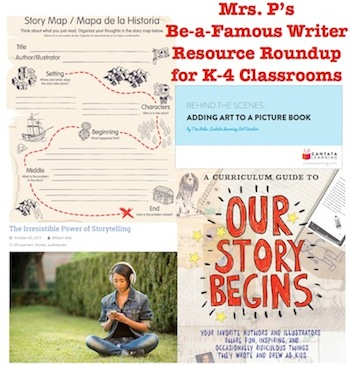 Be-a-Famous Writer Resource Roundup