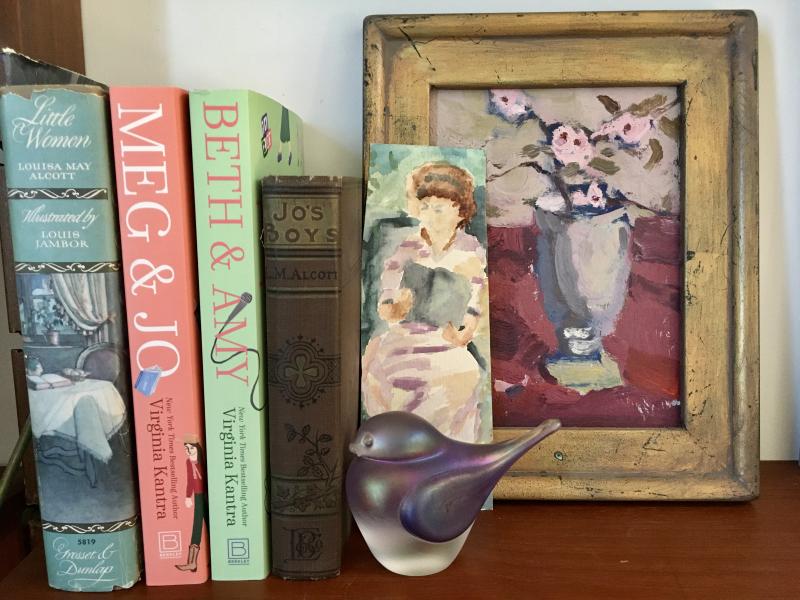 Little women bookshelf